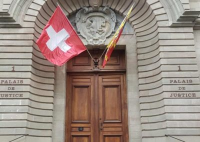 Palais de Justice en vieille ville – Genève